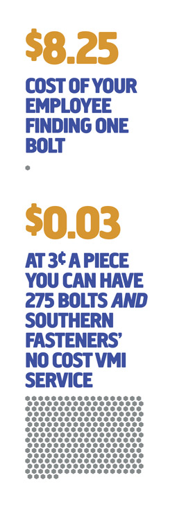 Cost efficient VMI service - Southern Fasteners
